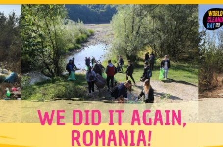Let's do it Romania! National Cleanup Day 2019