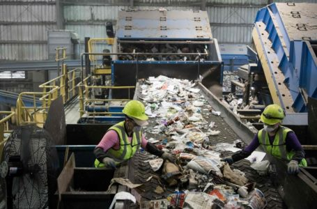 Volumes in recycling industry are slowly returnig to normal