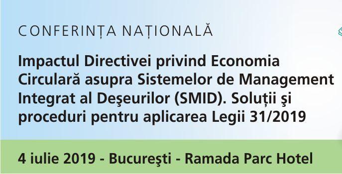 Directiva privind Economia Circulară asupra Sistemelor de Management Integrat al Deșeurilor (SMID)